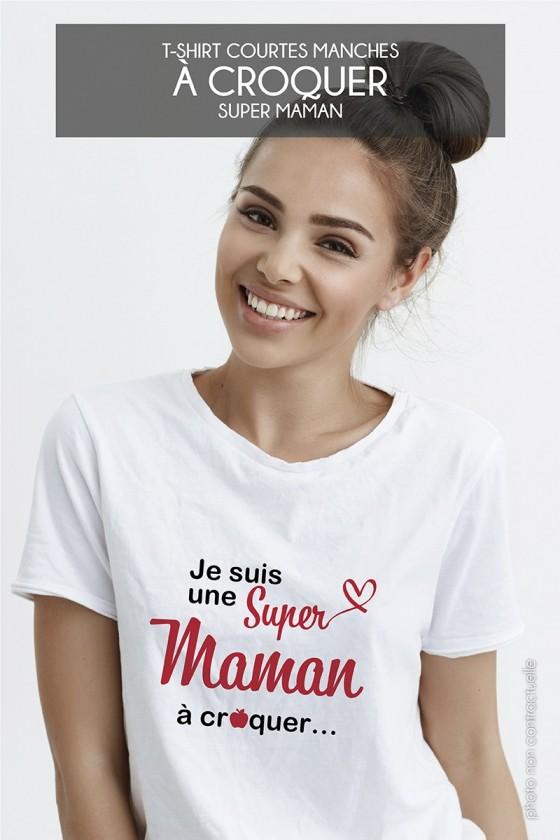 T-shirt • à croquer…