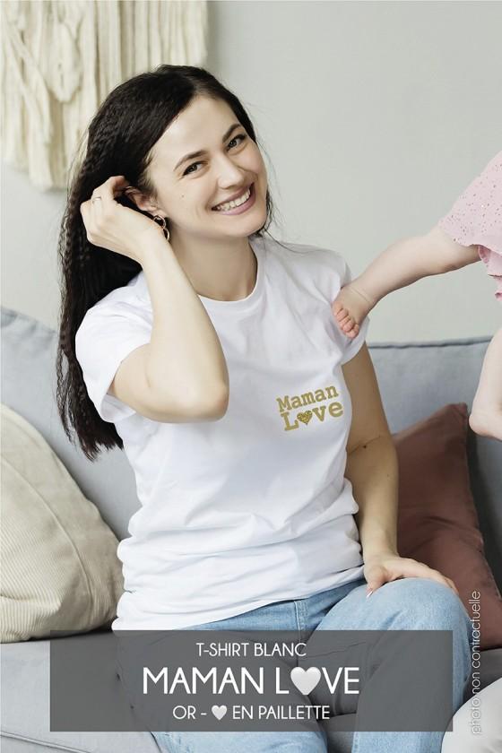 T-shirt • Maman Love