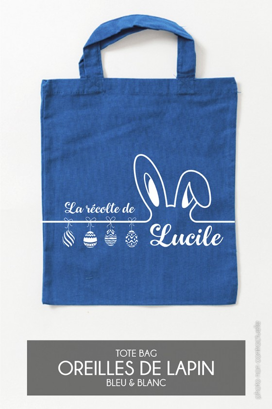 Mini Tote Bag • Oreilles de lapin