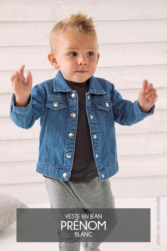 Veste en jean Baby Rocks